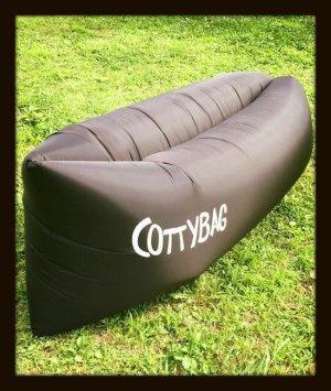 画像1: COTTYBAG コッティバッグ black