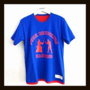 画像1: HAOMING ハオミン ☆ × PUNK DRUNKERS Reversible T shirts