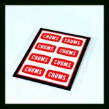 CHUMS チャムス ☆ Sticker CHUMS Logo Mini