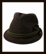 Ficouture フィクチュール ☆ Tirolian Thermo Hat Brown