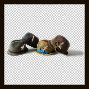 画像2: Ficouture フィクチュール ☆ Tirolian Thermo Hat Olive