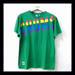 画像1: CHUMS チャムス ☆ Rainbow CHUMS T-Shirt