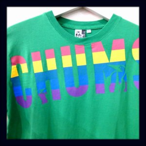 画像2: CHUMS チャムス ☆ Rainbow CHUMS T-Shirt