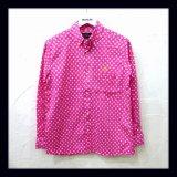 ALDIES アールディーズ ☆ スターボタンダウンシャツ PINK