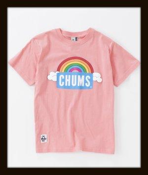 画像2: CHUMS チャムス ☆ レインボーロゴTシャツ