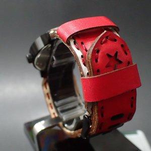 画像2: ojaga design オジャガデザイン × Vestal ☆ ALPHA BRAVO red1
