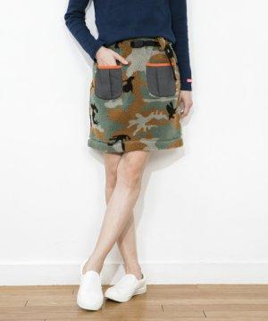 画像2: CHUMS チャムス ☆ ボアフリーススカート